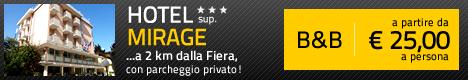 Hotel Mirage ***Sup - Viserba, a 2km dalla Fiera di Rimini.