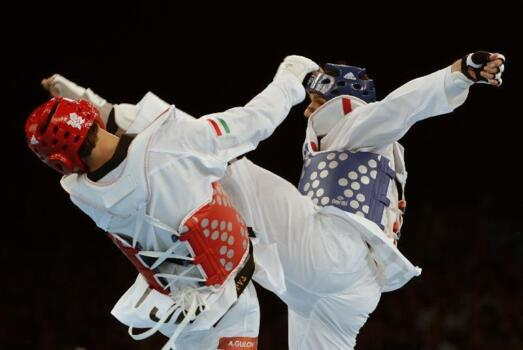 Taekwondo aux championnats d'Europe en 2014 Lecture Hall of Riccione 23 Avril to 27