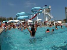 Vacance en Italie à Rimini en Juin avec enfant et parc aquatique gratis