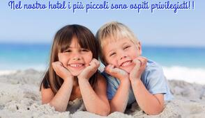 Offre dernière semaine de juin dans l'hôtel à Rimini pour famille