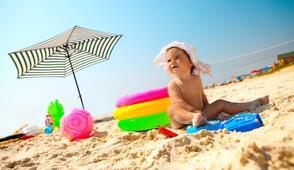 Début juin à la mer en hotel à Rimini près de la mer en Italie