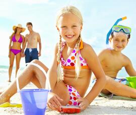 All-inclusive offer for July 4 -11 in hotel Rimini with entertainment and mini-club