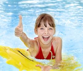 End of August Holiday Deal in a family hotel including baby sitter in Rimini