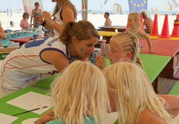 Juni vakantie op de camping in Bibione: staanplaatsenaanbieding