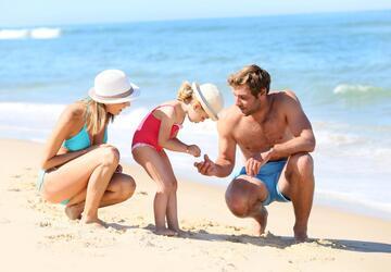 Tilbud på ferie i august i mobilhjem i campinglandsby med svømmebassin i Bibione