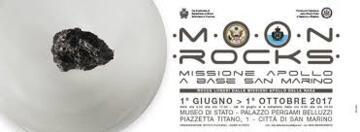 Moon Rocks - Missione Apollo Base a San Marino - Rocce lunari dalle missioni Apollo della NASA