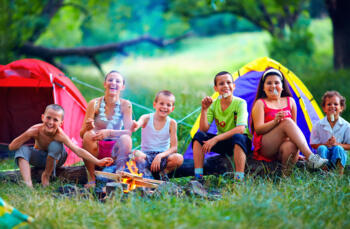 April Holidays in Camping