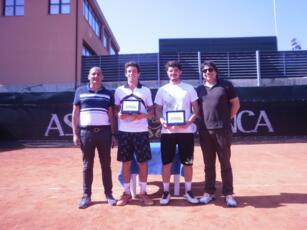 'Asset Banca Junior Open' a San Marino, doppietta vincente per Federico Bertuccioli