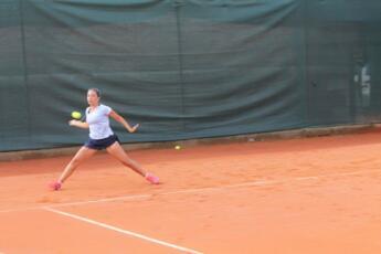 Anastasia Piangerelli arriva al secondo turno dei campionati italiani under 16 a Mantova