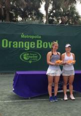Isabella Tcherkes Zade brilla all'Orange Bowl: successo in doppio e ottavi in singolare
