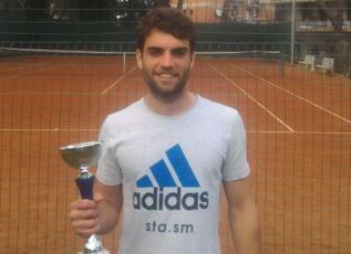 Andrea Silanos arriva in finale al torneo Open del Panda Roma