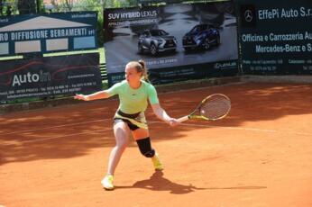 Isabella Tcherkes Zade dopo i quarti a Prato centra il 2° turno nel torneo ITF under 18 di Prato