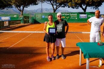 Torneo Open di Gaeta, Anastasia Piangerelli cede in finale
