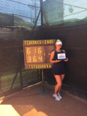'San Marino Junior Open', è doppietta vincente per Isabella Tcherkes Zade
