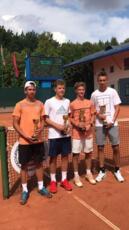 Alexandr Binda fa centro in doppio nel torneo Itf Junior Tour di Minsk