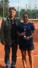 Caterina Pruccoli si ferma solo in finale nel torneo Open del Panda Roma