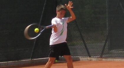 Torneo 4a cat. Pietracuta: Thomas Pellegrini ok all'esordio.