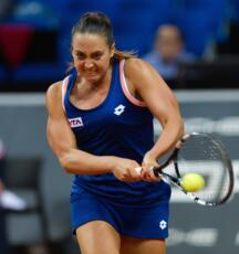 WTA di Nanchang: Barbieri supera il turno in doppio.