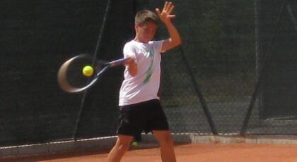Torneo Under 14 di Bellaria: Pellegrini e Ghiotti out.