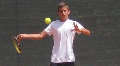 Nike Junior Tour u/14: Simoncini si arrende in finale.