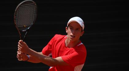 ITF Junior di Oberpullendorf: Bertuccioli lotta ma cede a Schell.