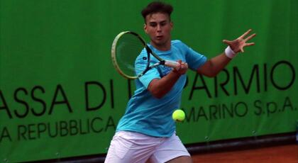 ITF Junior di Tunisi: De Rossi fa subito la voce grossa.