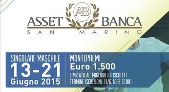 ASSET BANCA OPEN 2015: sabato al via con i primi match di qualificazione.