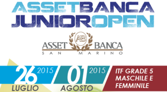ASSET BANCA Junior Open: domani al via le qualificazioni.