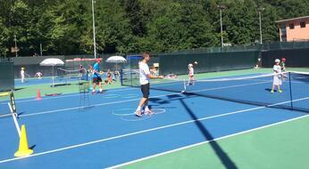 Sport in Fiera: tutti pazzi per il tennis!