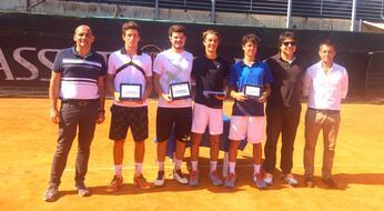 ASSET BANCA Junior Open (doppio): titolo a Bertuccioli-Stramigioli.