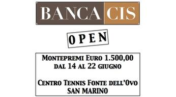 BANCA CIS OPEN, dieci big al via!