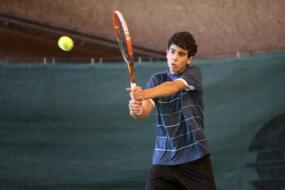 TE under 16 di Mestre: debutto ok per Pietro Grassi (n.1).