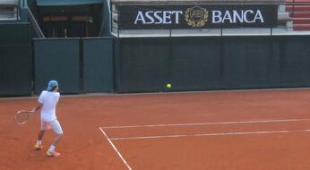 ASSET BANCA Junior Open: fuori Forcellini e Barbieri.