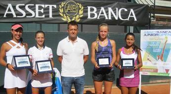 ASSET BANCA Junior Open: Di Carlo e Maffei vincono il titolo.