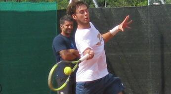 ITF Futures di S. Margherita di Pula: De Rossi e Galimberti avanti in doppio.
