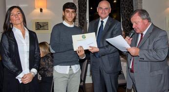 Panathlon Club: Pietro Grassi vince il premio 2014.