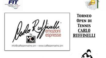 Al via le iscrizioni del CARLO RUFFINELLI OPEN!