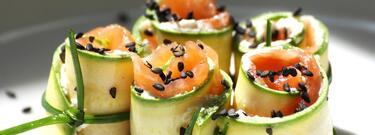 Rotolini di zucchine