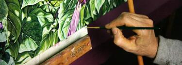 Corso di pittura botanica contemporanea a olio