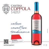 Rosato Li Cuti Alezio Doc 2016... rosa corallo intenso. Colore, carattere e tradizione.