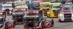 Lastwagenfahrer-Wochenende und European Truck Racing Meisterschaft 2016 in Misano