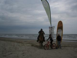 Escursioni Noleggio SUP Mountain Bike Escursioni a cavallo al Mare in Piallasse Baiona nella Pineta San Vitale