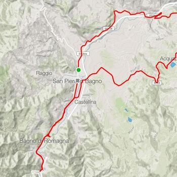 <b>Anello Selvapiana</b><br><br><b>Difficoltà</b>: Medio - Facile<br><br><b>Tipo</b>: Bici da strada<br><br><b>Dislivello</b>: 429 m<br><br><b>Lunghezza</b>: 26 km<br><br><b>Tempo stimato</b>: 1.20 h