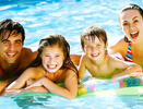 Offer week of June in Rimini hotel with family plan and water park free