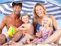 Offerta in all-inclusive fineLuglio per famiglie al mare