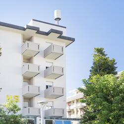 First week of August in Rimini 3 Star Hotels with parking, pool and beach service