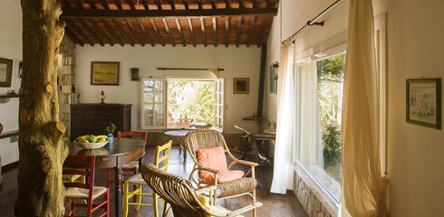 Autunno all'isola d'Elba in resort con appartamento sul mare