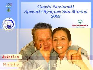 GIOCHI NAZIONALI SPECIAL OLYMPICS SAN MARINO 2009