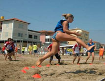 Torneo Internazionale di Beach Tchoukball