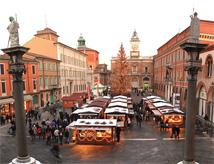 Natale e mercatini 2013 nel centro di Ravenna